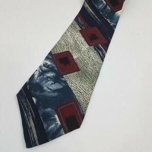 894827108bc6 Bugatti Italian 100% Silk Neck Tie Men's Abstract